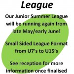 Junior Summer League 2014