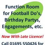 Website Function Room poster